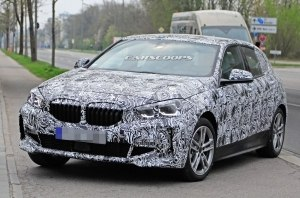 Новое поколение BMW 1 Series получит уникальную радиаторную решетку