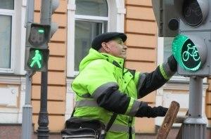 В Киеве заменят 189 старых светофоров