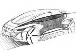 Audi анонсировала премьеру беспилотного электрокара