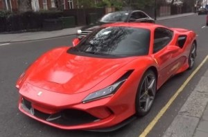 Ferrari F8 Tributo заметили на улицах Лондона