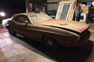 Ford Mustang 1973 года выставили на продажу за 5200 долларов