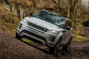Range Rover Evoque не станет электрическим в ближайшее время